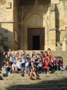 les enfants à Estaing