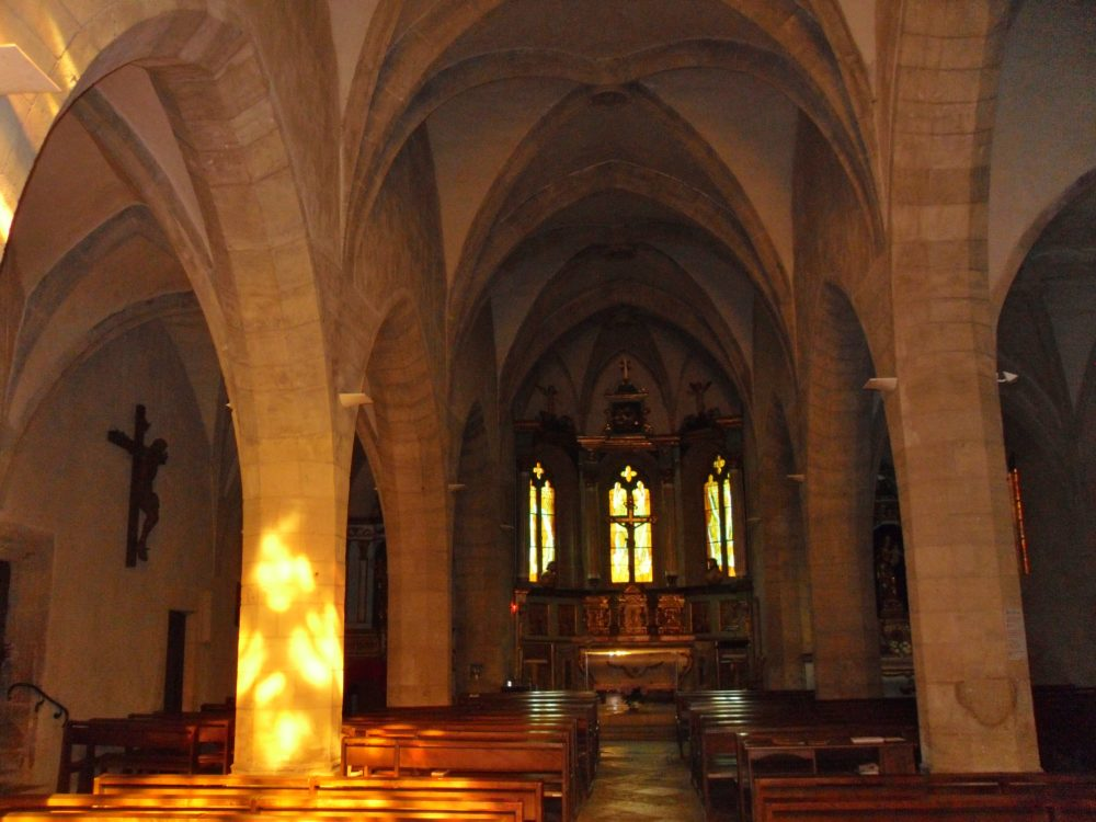 église d'Estaing - intérieur