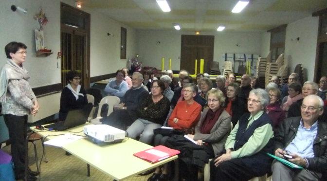 Réunion bilan sur le synode