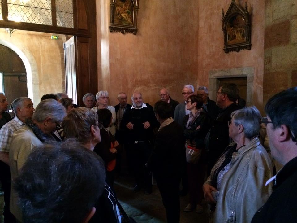 visite de Sainte Fauste