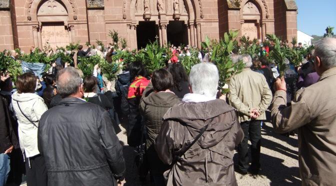 Horaire des messes sur la paroisse Saint Bernard d'Olt du 8 au 16 avril 2017