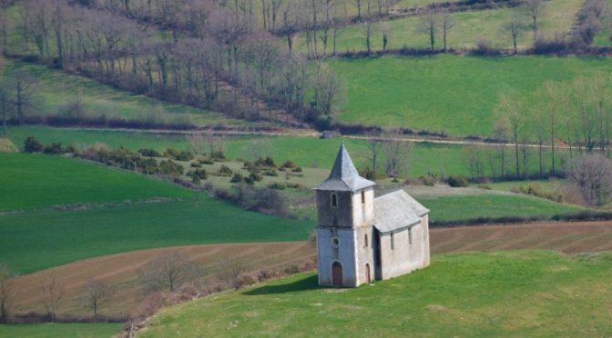 Restauration de la chapelle Notre Dame de la Salette à Ceyrac