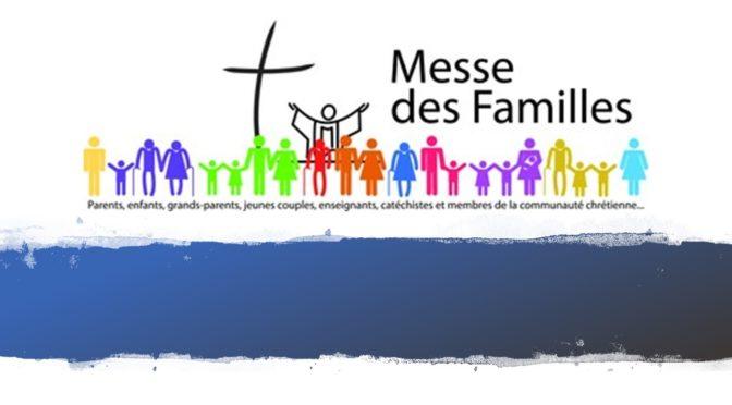 Messe des familles sur la paroisse