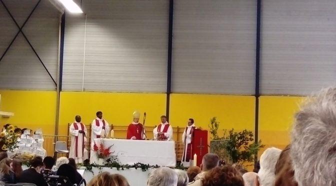 """Messe d'installation de l'équipe des prêtres du doyenné de la """"Montagne Vallée d'Olt"""""""