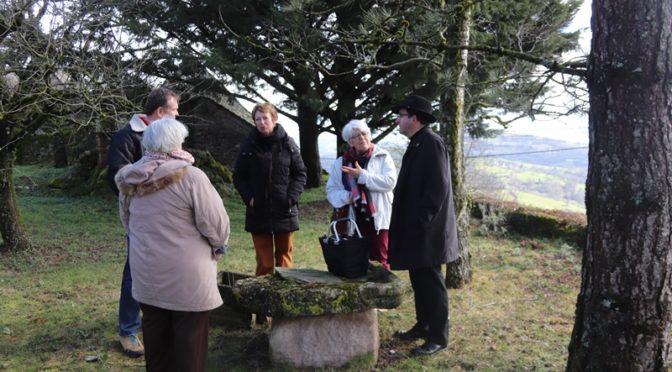 Le Père Jean Luc Barrié en visite à Lassouts