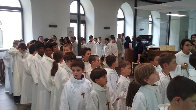 Journée diocésaine des servants d'autel Rodez