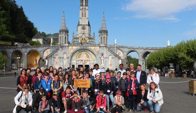 Pèlerinage à Lourdes pour les jeunes