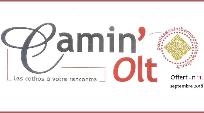 Un nouveau magazine : Camin'Olt
