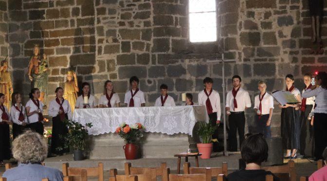 O'Musica en concert à Aubrac