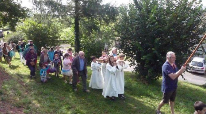 Pèlerinage à Saint Geniez des Ers