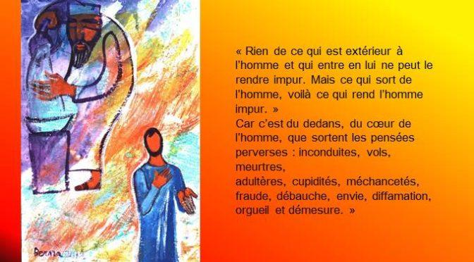 Messes semaine du 2 septembre