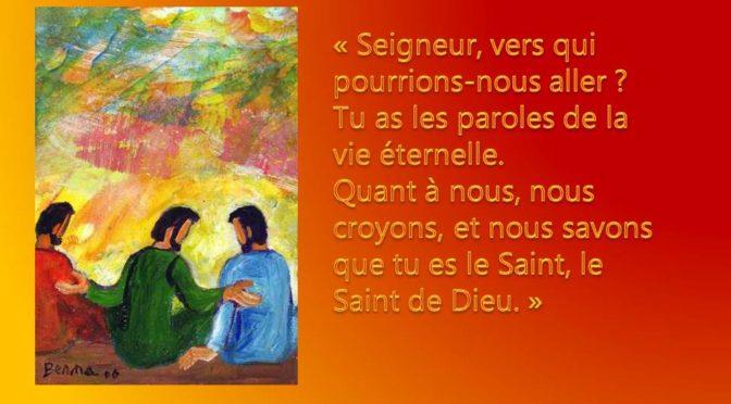 Messe semaine du 26 Août