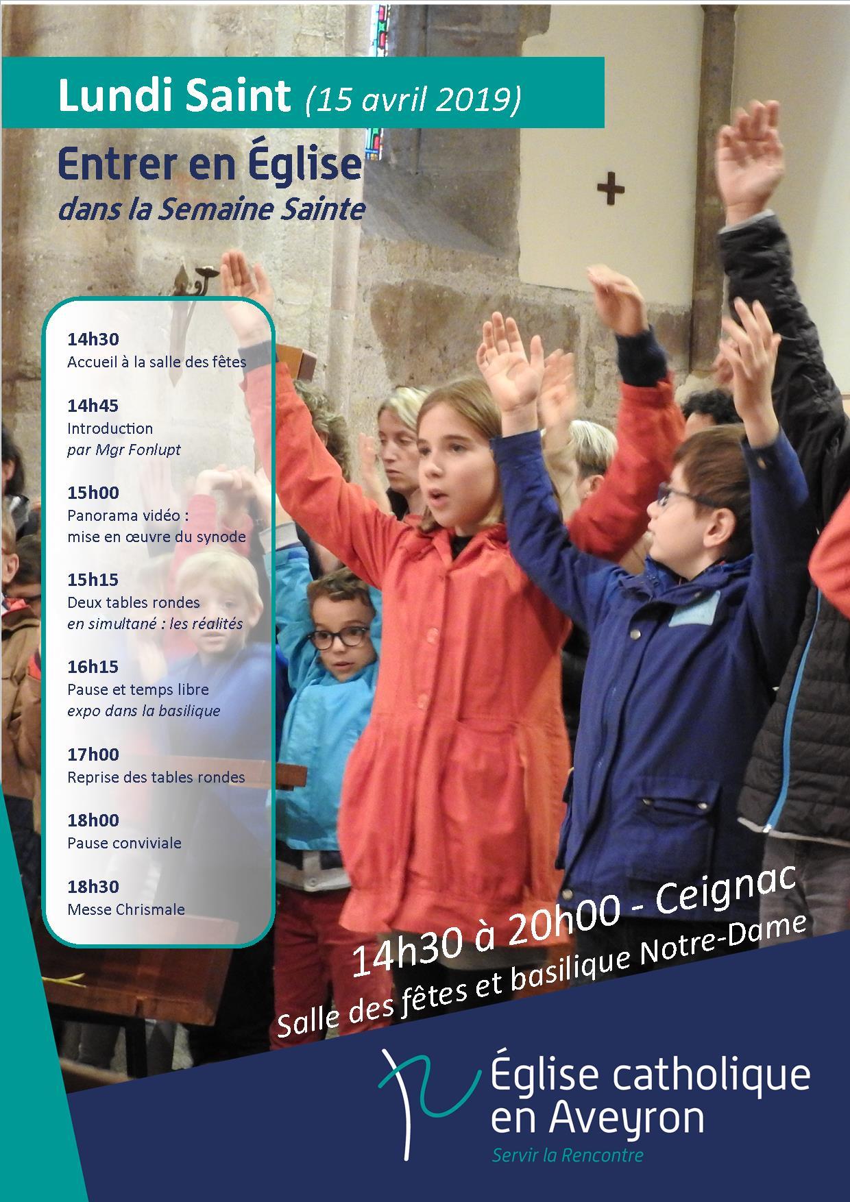 2019 04 15 Lundi SaintAffiche