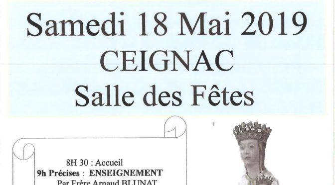 Rassemblement diocésain à Ceignac