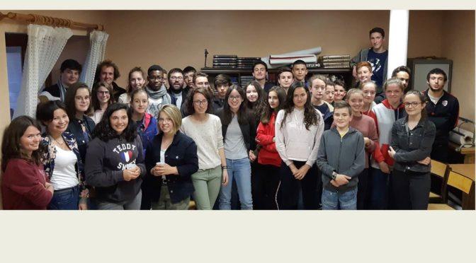 Soirée Lourdes avec les jeunes