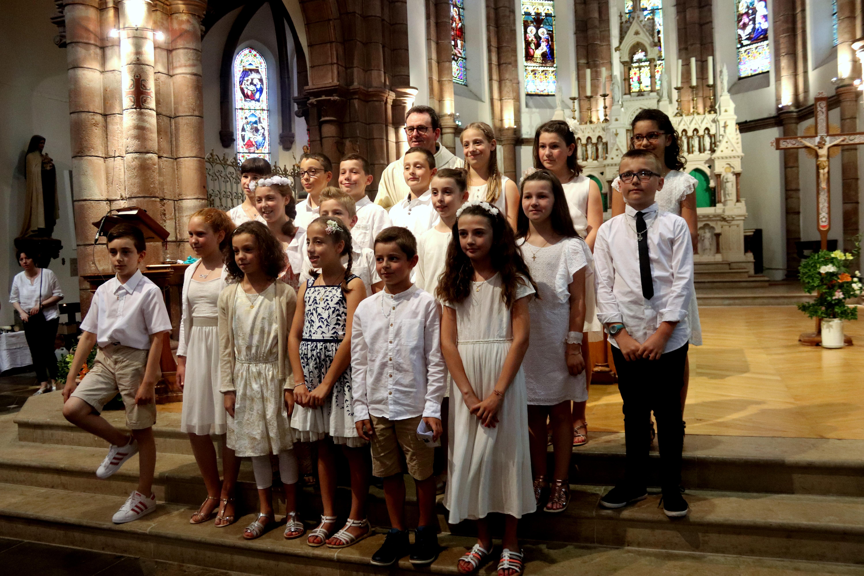 Première communion à Espalion
