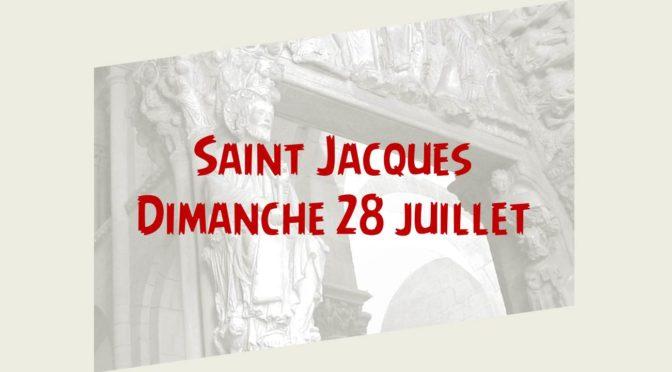 Fête de la Saint Jacques sur la paroisse
