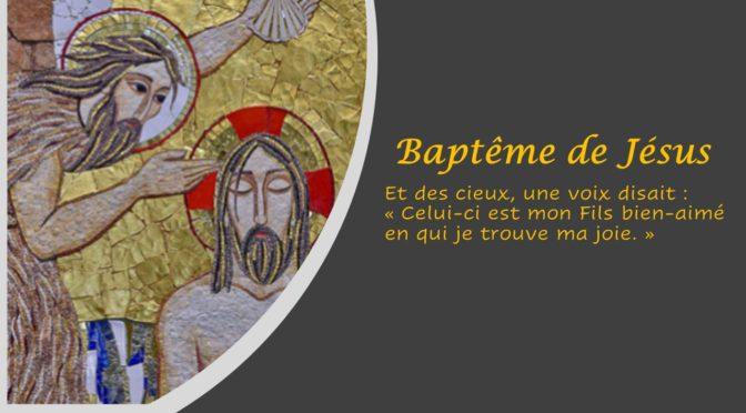 Horaire des messes semaine du 12 janvier