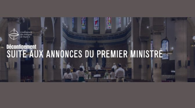 Mardi 28 avril 2020 : Communiqué des évêques de France