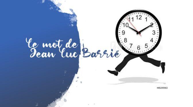 Prendre le temps….