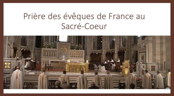 Assemblée plénière de juin 2020 des évêques de France au Sacré-Coeur