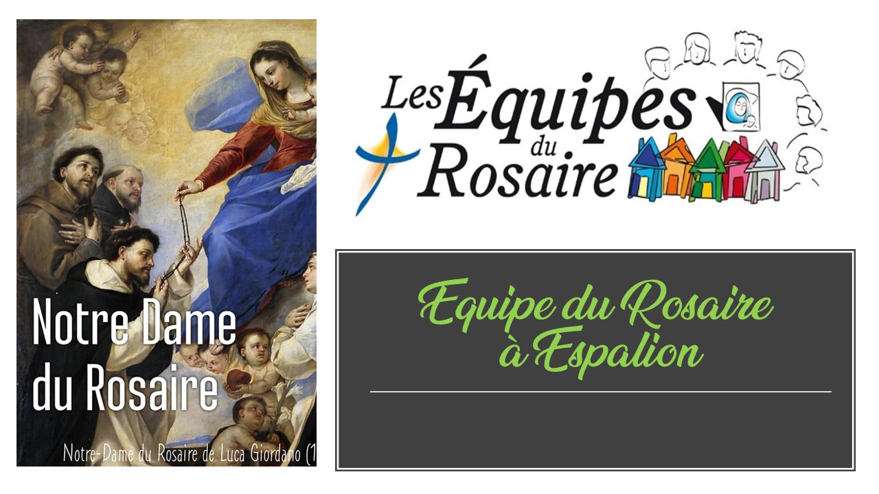 Rosaire en équipe