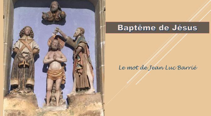 """Entrée dans l'année """"Baptême Esprit Saint"""" 2021-2022"""