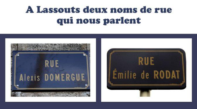 Mais qui sont Alexis Domergue et Emilie de Rodat?