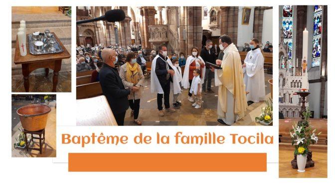 Baptême en ce jour de Pâques