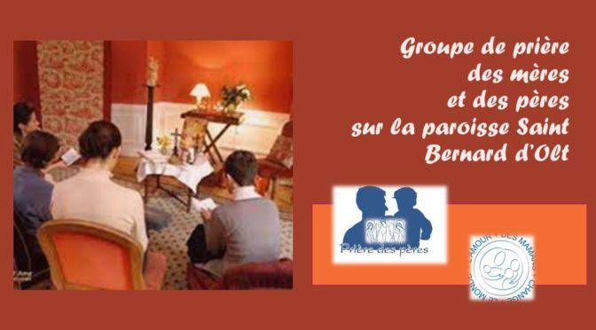 Groupe prière des mères et prière des pères(*)